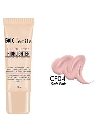 Cecile Göz Altı Kapatıcısı Ve Fondöten Cf04 Renksiz